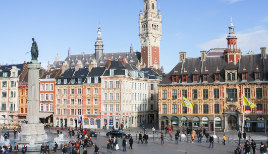 Vieux Lille in Lille France where Flash Global does Logistics