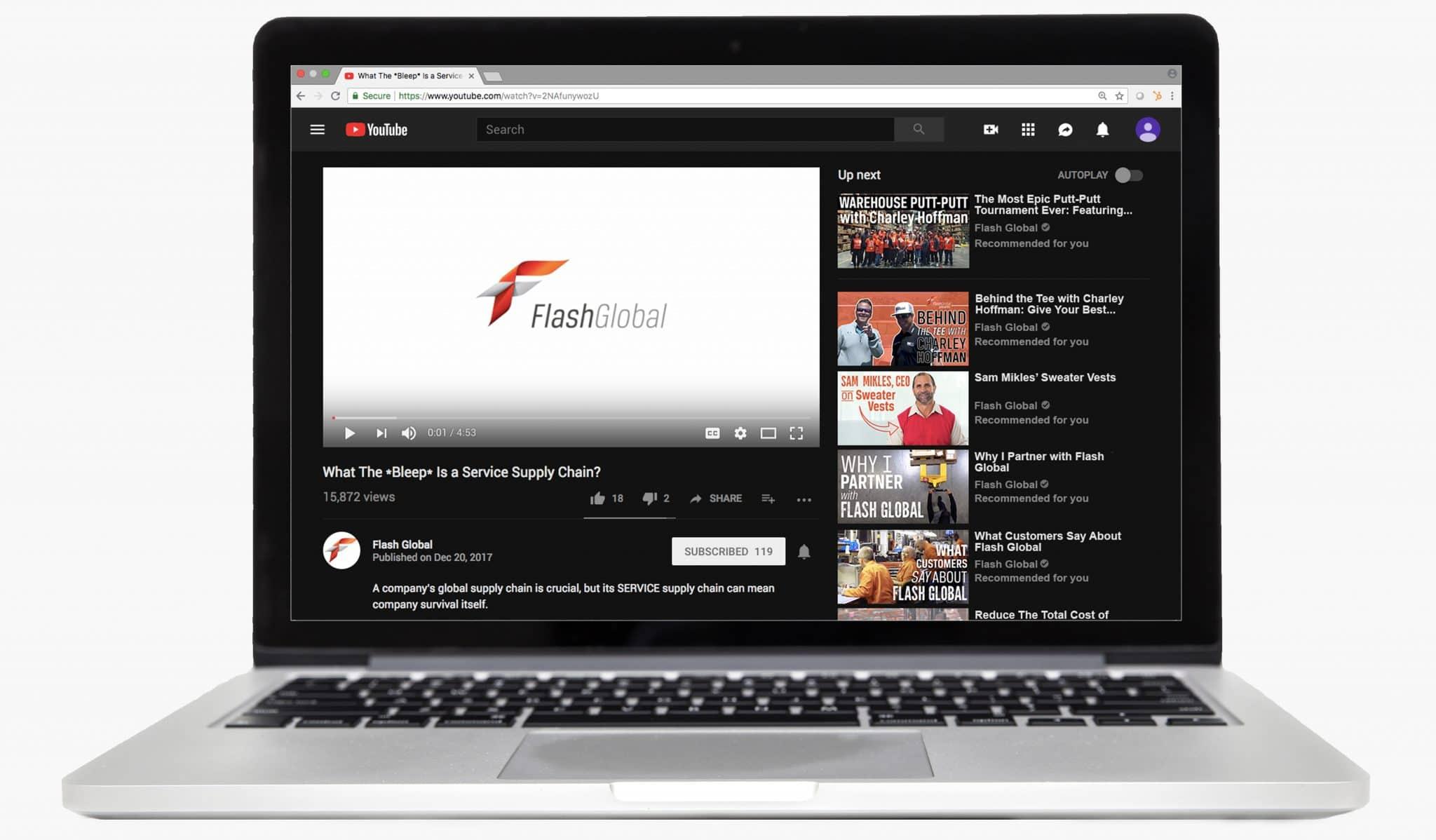 Watch Service Supply Chain Video